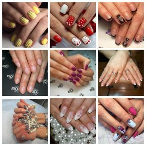 покрытие ногтей и дизайн